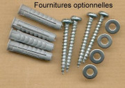 Set of 4 stainless steel screws