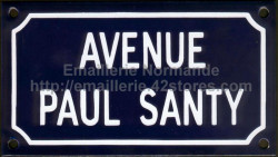 Custumised French enamel sign 10x15cm or 10x18cm