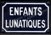 Enamel signs for family & friends