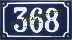 french traditional enamel sign house number 3 diggit