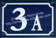 N° + A, B... BIS, TER...