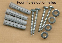 Set of 4 stainless steel screws (A4)